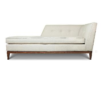 Jonathan Adler Danner Left Arm Chaise in Tangiers Sand