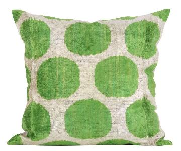 Large Silk Velvet Down Feather Pillow
