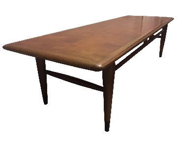 Lane Vintage Mid-Century Modern Coffee Table