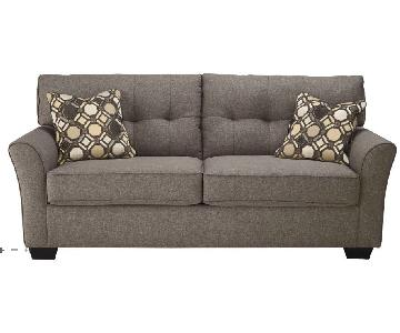 Raymour & Flanigan Dark Gray Sleeper Sofa
