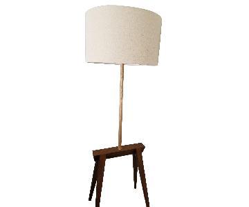 West Elm Mid Century Modern Floor Lamp