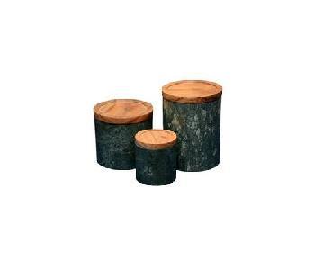 DesigneGallerie Mache Green Jars