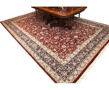 Oriental Pakistan Tabriz Design Carpet