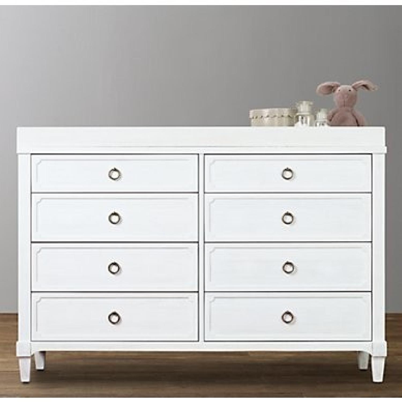 Restoration Hardware Tatum Wide Dresser & Topper Set