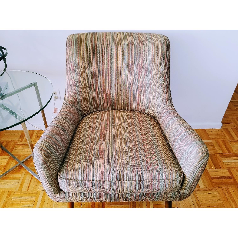 Room & Board Quinn Arm Chair & Ottoman