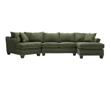 Raymour & Flanigan Foresthill 3-Piece Sectional Sofa
