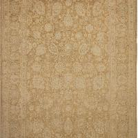 Kafkaz Sun-Faded Gayle Tan/Lt. Brown Wool Rug  - 10'1 x 13'8