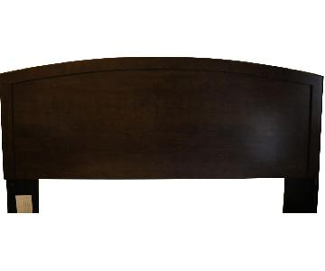 King Size Brown Headboard