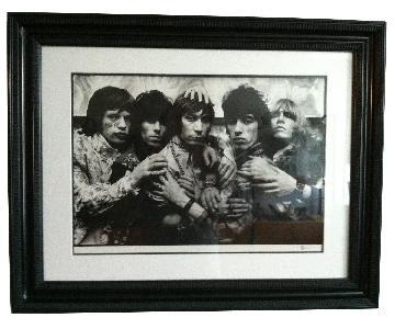 Michael Cooper 1967 Rolling Stones Eleven Hands Print