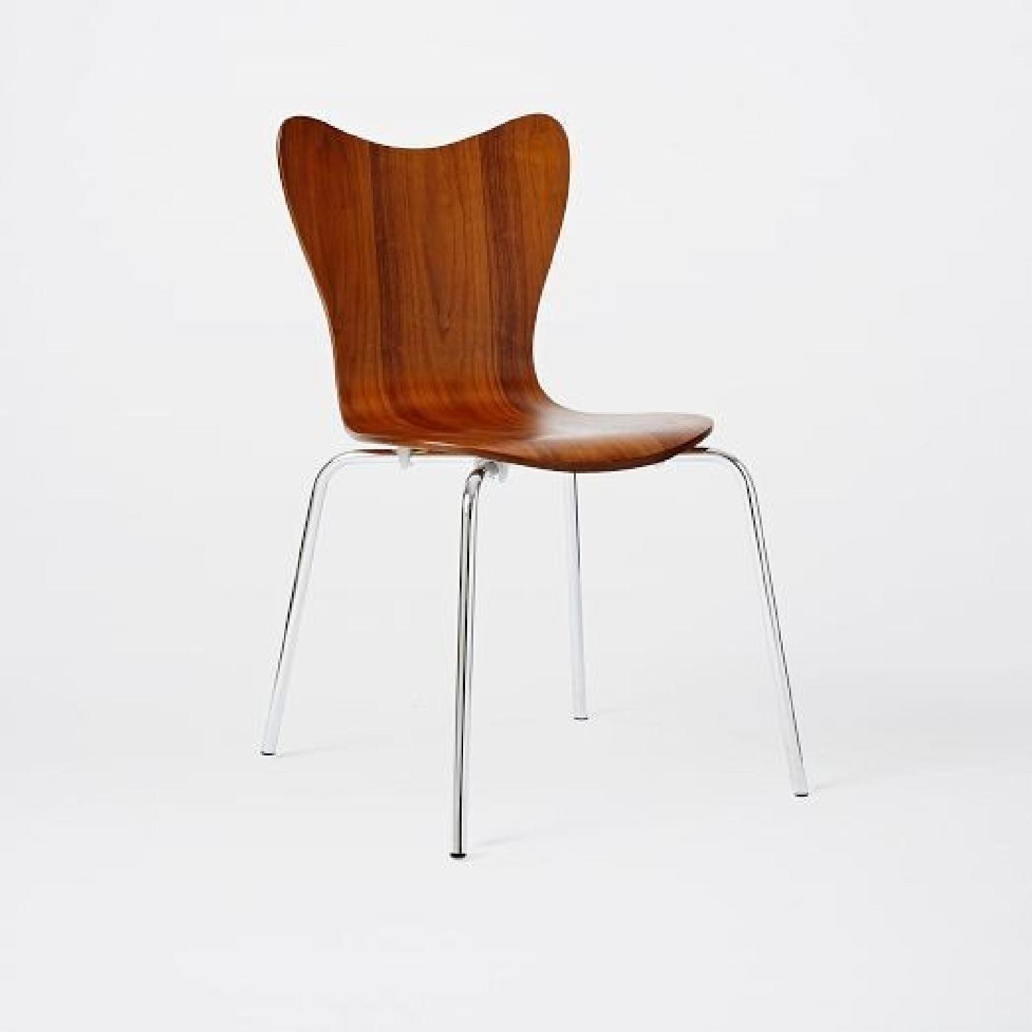 West Elm Scoop Back Dining Chairs ...