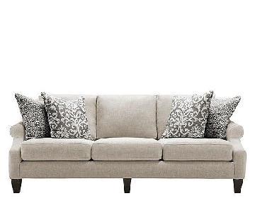 Raymour & Flanigan Anastasia Beige Sofa