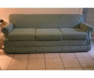 Sea Foam Green 3 Seater Sofa