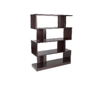 Sunpan Modern Home Morrissey 4 Tier Bookshelf