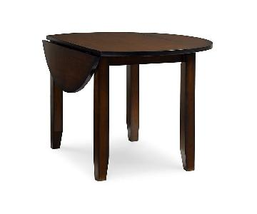 Macy's Wood Drop-Leaf Dining Table