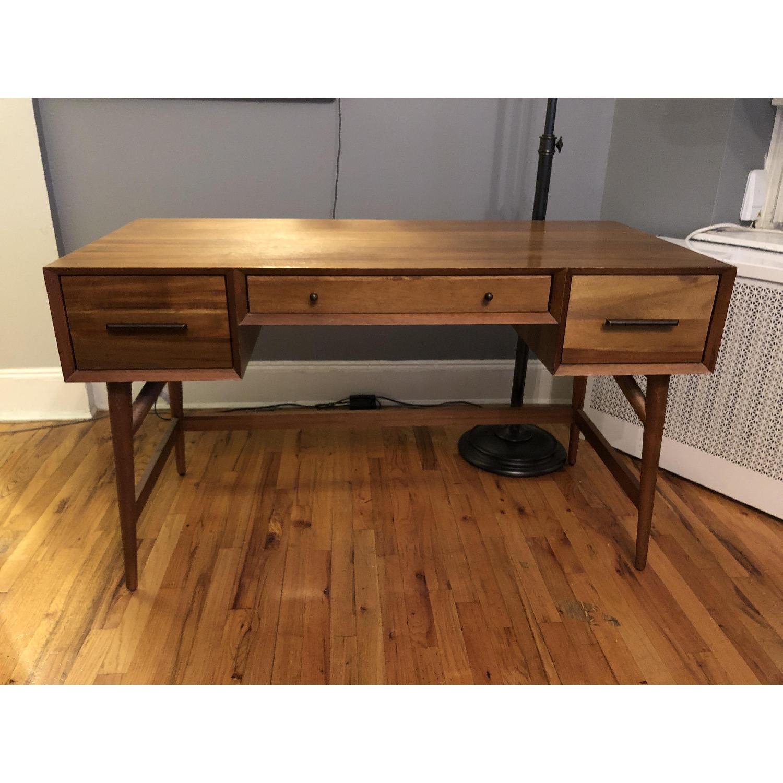 West Elm Mid-Century Desk in Acorn-1