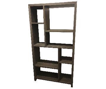 West Elm Geometric Bookcase