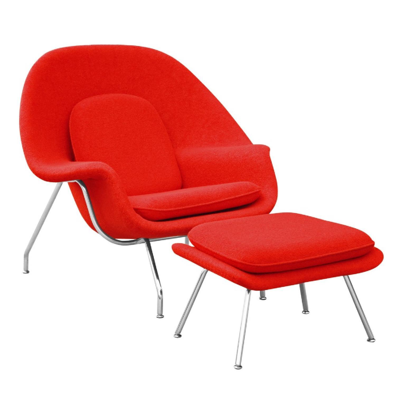 Manhattan Home Design Womb Chair & Ottoman