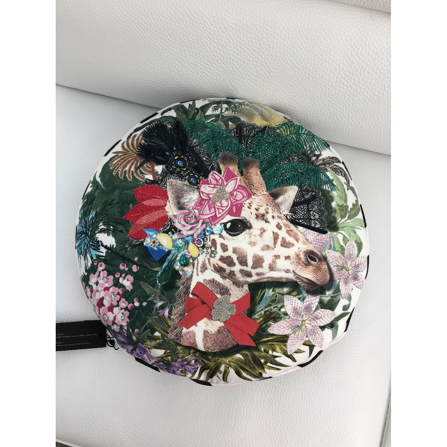 Christian Lacroix Jirafa Opiat Decorative Pillow - image-4