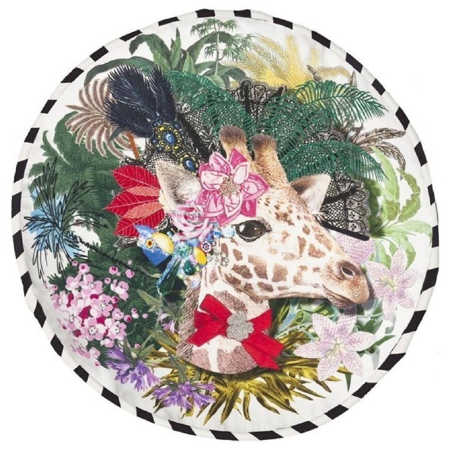 Christian Lacroix Jirafa Opiat Decorative Pillow - image-0