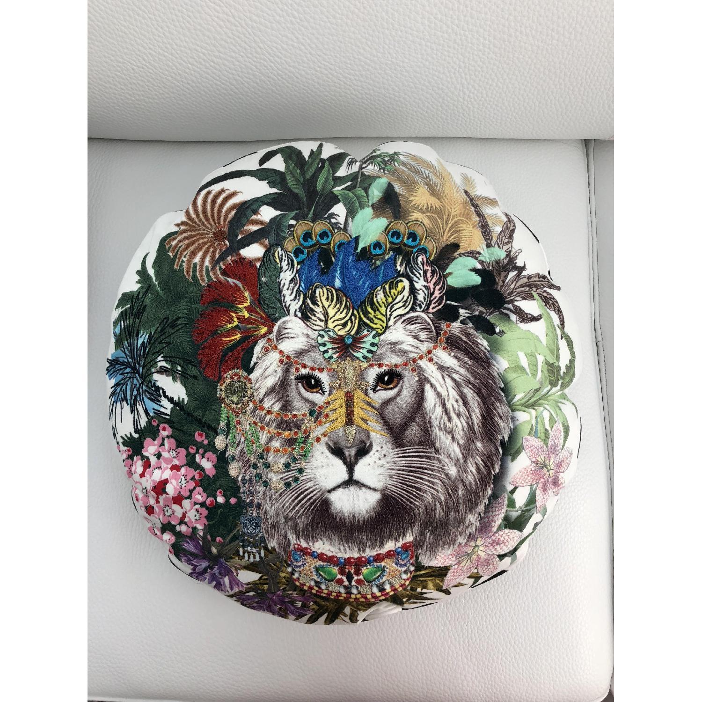 Christian Lacroix Jungle King Opiat Decorative Pillow - image-1