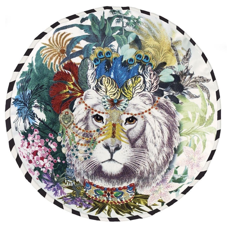 Christian Lacroix Jungle King Opiat Decorative Pillow - image-0