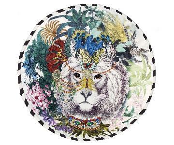 Christian Lacroix Jungle King Opiat Decorative Pillow