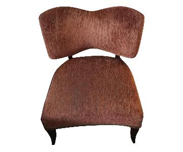 Custom Made Jim Thompson Upholstered Chairs