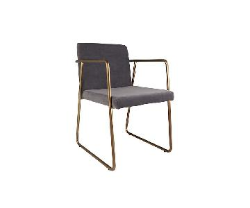 CB2 Rouka Dining Chairs