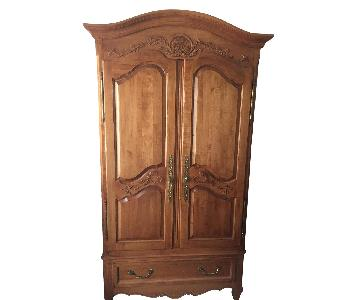 Ethan Allen Solid Wood Armoire
