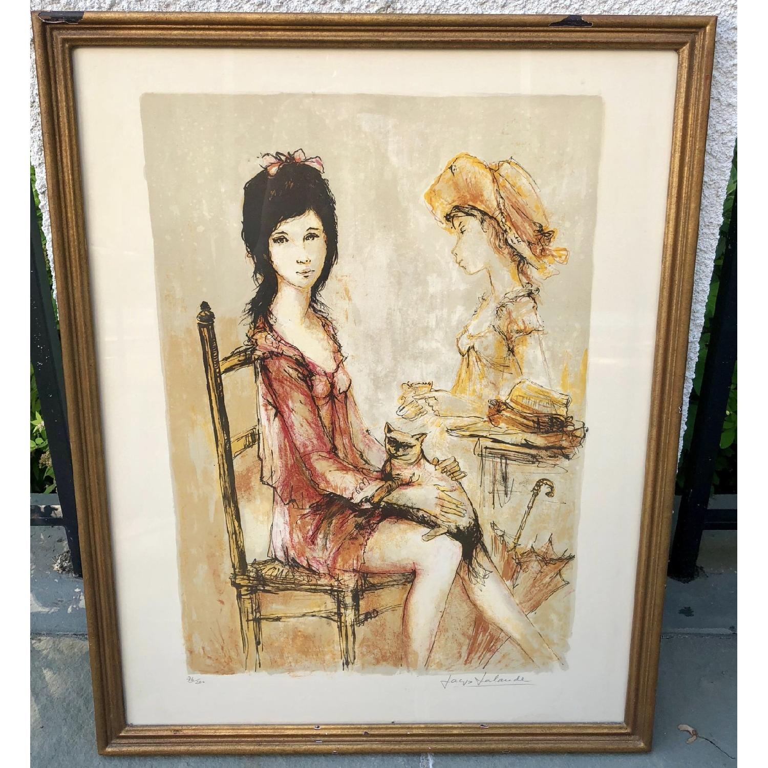 Signed & Numbered Midmod Jacques Lalande Lithograph