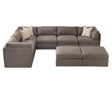 Thayer Coggin Milo Baughman Sectional Sofa