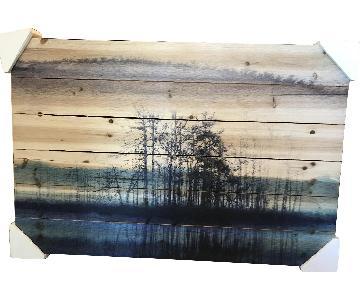 Parvez Taj Wood Painting