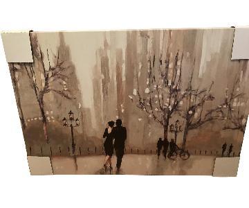 Julia Purinton Print An Evening Out on Canvas Art