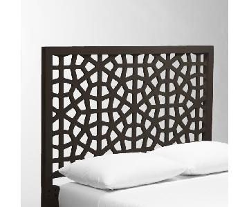West Elm Queen Frame w/ Morocco Headboard