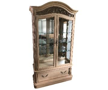 Stanley Sophia Lighted China/Curio Cabinet