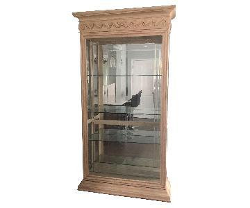 Pulaski Lighted Curio Cabinet