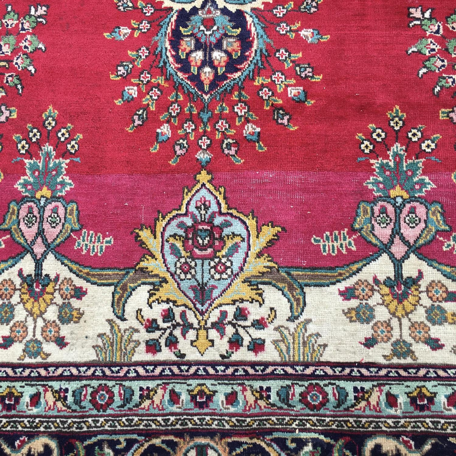 Vintage Persian Style Area Rug