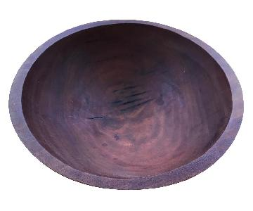 Vermont Cherry Wood Hand Carved Bowl
