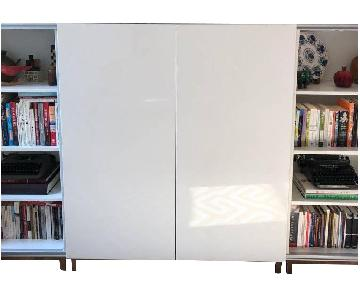 Ikea Besta TV & Bookshelf Console