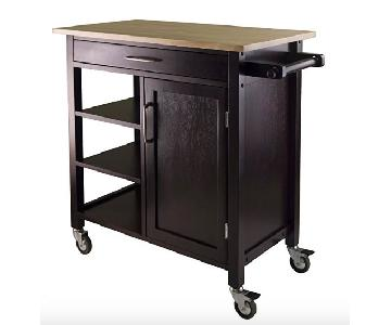 Winsome Wood Wood Kitchen Cart w/ Wheels