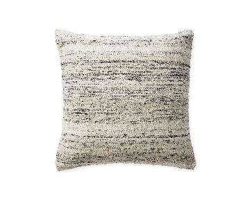 Serena & Lily Keys Pillow Covers in White/Black