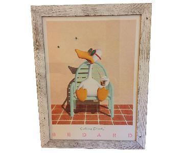 Michael Bedard Framed Sitting Duck Poster