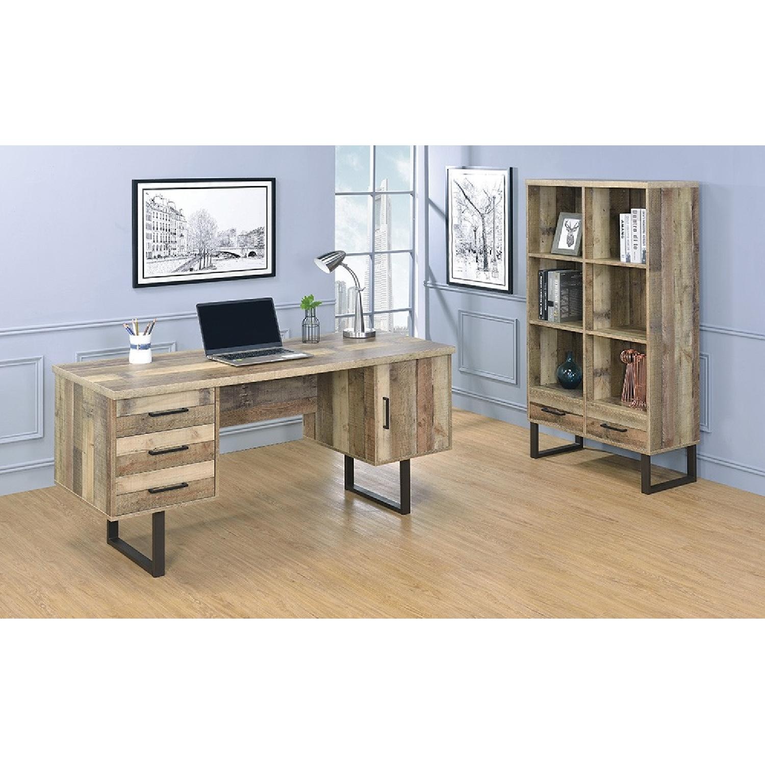 Writing Desk in Weathered Pine Finish