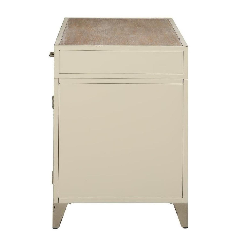Modern Writing Desk in Rustic Oak Finish - image-7