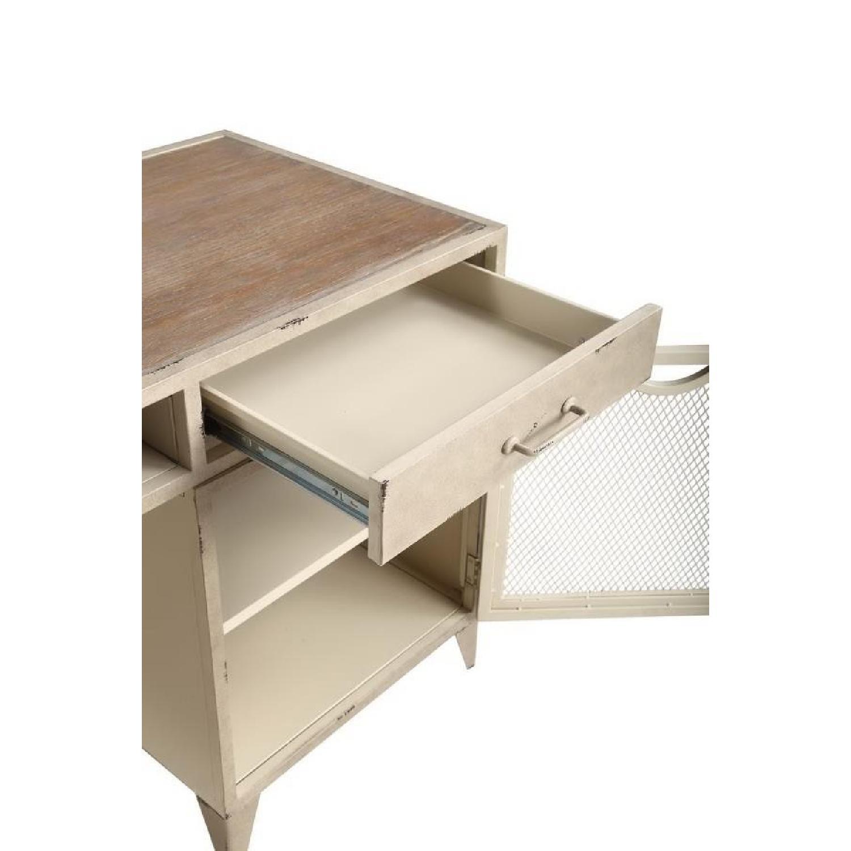Modern Writing Desk in Rustic Oak Finish - image-8