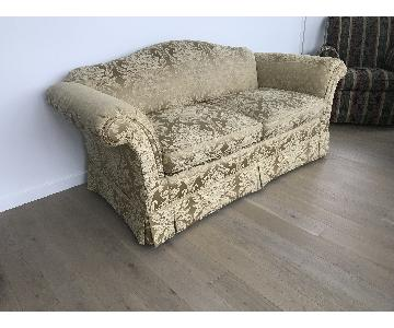 Highland House Damask Slipcovered Sofa