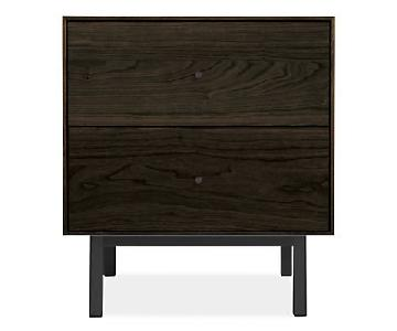 Room & Board 2 Drawer Nightstand