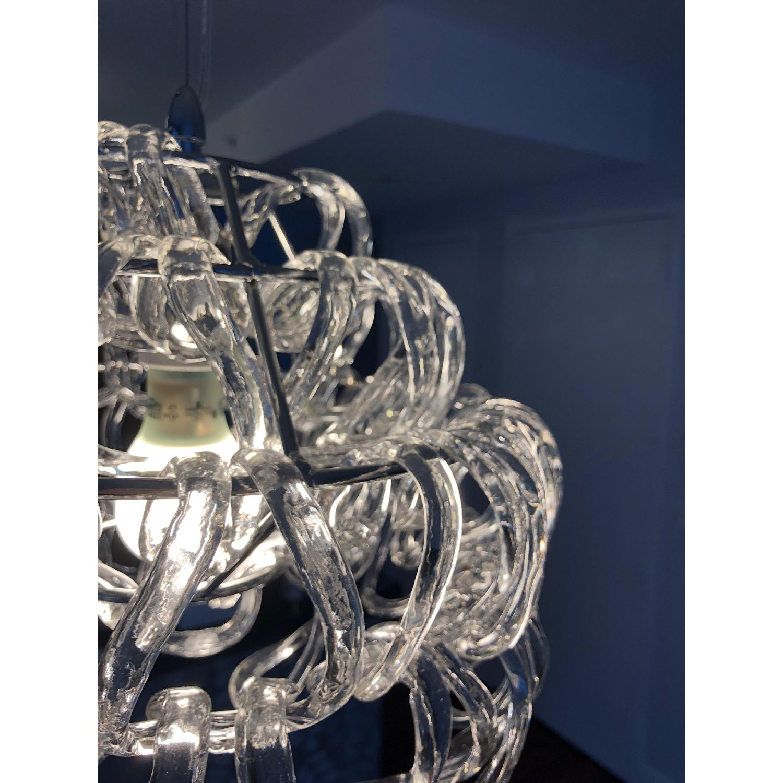 Giogali Italian Hand Blown Crystal Links Pendant Chandelier
