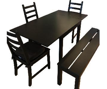 Ikea Bjursta 5-Piece Dining Set
