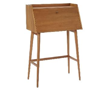 West Elm Mid-Century Secretary Desk